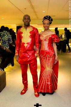 Afrikan Wedding Outfit