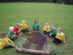 Gruffalo outdoor collage