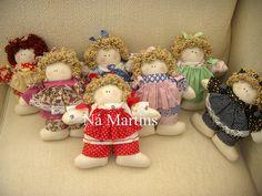 boneca de pano by Ná Martins, via Flickr