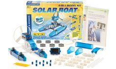 THAMES AND KOSMOS   Solar Boat Kit