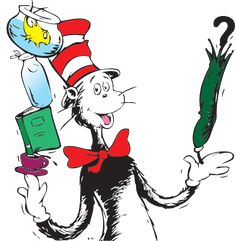 Learning Activities With Dr. Seuss' Cat in the Hat: #math, #literacy, #recipes #crafts and more.