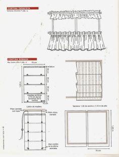 Revistas Crafts grátis: Como fazer cortinas