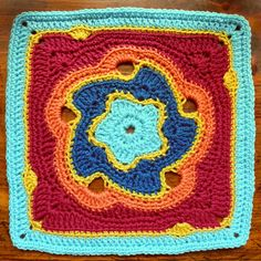 "Ravelry: The Lambent Light of Morning 12"" Block pattern by Shan Sevcik"