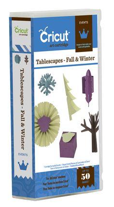 Tablescapes – Fall & Winter Cricut Event Cartridge