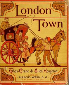 Published in 1883, this brightly illustrated collection of children's poems offers vivid impressions of a variety of iconic London sights. Though some of the book's scenes are recognizable in the London of today, many offer fascinating glimpses at a bygone era: the Omnibus rumbling down London streets with small boys running alongside, the Penny-Toy Man peddling toys to children on London sidewalks, the Chestnut Woman roasting chestnuts on a London street corner.