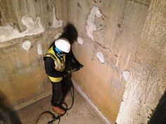 Cemplas Waterproofing and Concrete Repairs Ltd were appointed the £38,000 contract to undertake the application of a Delta cavity membrane system to the basement/lower ground floor walls and floor, together with the application of a Delta waterproofing sl