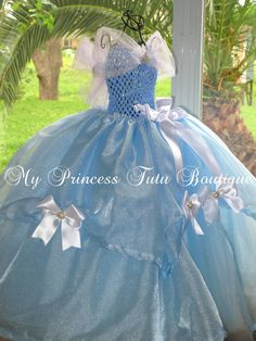Cinderella Girls Dress Girls Cinderella by MyPrincessTutuBoutiq, $100.00