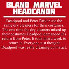 Bland Marvel Headcanons