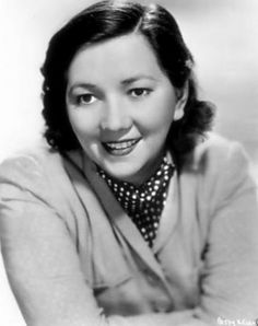 Patsy Kelly -- Brooklyn-born Irish-American comedian of Depression-era Hollywood who went on to win a Tony Award on Broadway. After appearing in numerous films — usually as a wisecracking maid or someone's salty sidekick.
