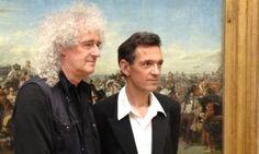 Brian May and Denis Pellerin