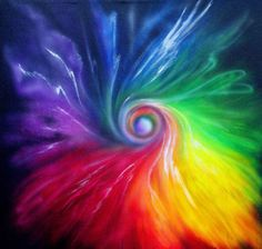 Beautiful Colors Of The Rainbow Rainbow Art, Rainbow Colors, Vibrant Colors, Rainbow Swirl, Rainbow Painting, Rainbow Stuff, Rainbow Bubbles, Rainbow Magic, Rainbow Light