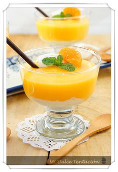Mi dulce tentación: Crema de Mandarinas