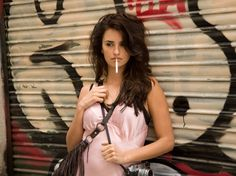 Penélope Cruz em Vicky Cristina Barcelona.