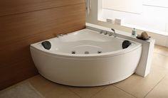 Hörnmassagebadkar Demerx Bajkal