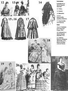 historia del traje: EL PRIMER POLISÓN 1868-1876