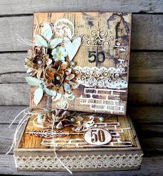 piabau: Fødselsdags æske med kort