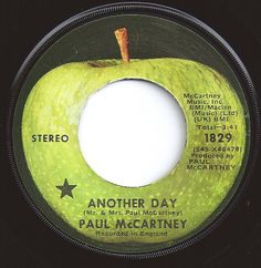 Another Day / Paul McCartney / on Billboard 1971 Apple Records, Old Records, Vinyl Records, Another Day Paul Mccartney, 1970s Music, Rock And Roll Bands, Good Ole, My Music, The Beatles
