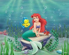 Ariel a pequena sereia