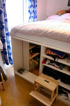 DIY Under-Bed Storage   acorn and atlas