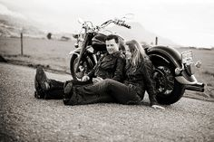 couple shots Motorcycle-Engagement-Session by Alyssa Schroeder on Flickr