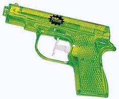 Water gun - How I loved my water pistol