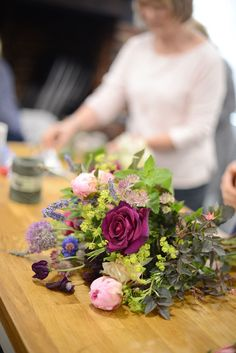 flower school with kingfisher farm shop