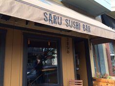 Saru Sushi Bar - Restaurant - San Francisco - HERE San Fransisco, Restaurant Bar, Sushi, Outdoor Decor, Home Decor, Decoration Home, Room Decor, Home Interior Design, Home Decoration