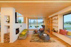 Baufritz Alpenchic - Das Musterhaus Alpenchic ist eines der innovativsten Musterhäuser in Europa. Es verbindet traditionelle, alpine Elemente und moderne Bauhaus-Architektur auf eindrucksvolle Weise