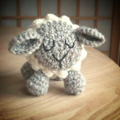 Sheep - Free Amigurumi Pattern here:  http://fuglycrochet.blogspot.co.uk/2014/04/crochet-sheep-free-pattern.html