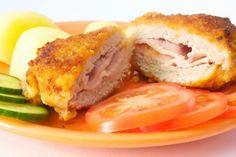 Milanesas rellenas de jamon y queso