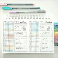 Bullet Journal Daily Spread - A ton of photos for ideas and inspiration - ForeverGoodLife.com