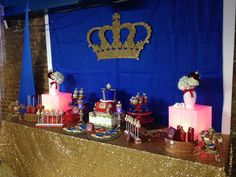 Prince Baby Shower Party Ideas | Photo 1 of 62 | Catch My Party