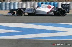 Sauber C31 shakedown