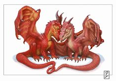 Dragon Couple by ~LyntonLevengood on deviantART