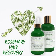 💚 Botanical Hair Recovery System🌿 Lemongrass Essential Oil stimulates cell division and dilates blood vessels and, in turn, stimulates hair follicles into producing new hair. Lemongrass' unique oil properties have the ability to penetrate the hair cortex, resulting in shinier and more manageable hair. Rosemary contains Ursolic Acid, a pentacyclic triterpenoid compound with extraordinary anti-inflammatory and antimicrobial properties. It enhances hair growth by stimulating the peripheral…