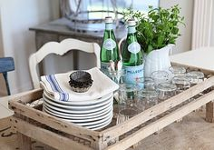 Summer Entertaining Ideas....The Pleasure of Presentation! See More at thefrenchinspiredroom.com
