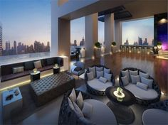 Luxe Living in Downtown Dubai's 118 Residences Luxury Apartments, Luxury Homes, Villa Design, House Design, Exterior Design, Interior And Exterior, House Of Night, Nyc, Find Homes For Sale