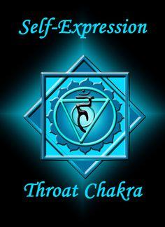 Throat Chakra Sanskrit Name: Vishuddha Color: Blue Location:Front of throat Element: Water Sense: Sound Aromas: Sage, Benzoin, Bergamot, Key Sound: Musical Note G Ruling Planet: Mercury Throat Cry…