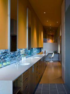 master bath countertop window