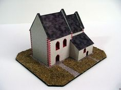 A Church in Tasov Free Building Paper Model Download - http://www.papercraftsquare.com/a-church-in-tasov-free-building-paper-model-download.html#1200, #BuildingPaperModel, #Church