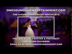 Wedding - One Sound and Entertainment is the Best wedding Dj in Atlanta  #wedding #weddings #weddingreception #weddingdj #onesoundandentertainment #Bride