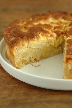Un super gâteau aux pommes, tout en simplicité et plein de pommes ! - PASSION ... GOURMANDISE !