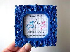 """Charlie the Unicorn. """"Shun the nonbeliever...shunnnnnnn!"""" haha"""