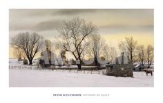 Outside of Bally Art Print by Peter Sculthorpe at Art.com