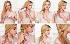 Düğümlü At kuyruğu Saç Modeli Nasıl yapılır? Resimli Anlatım