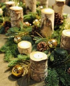 60 Most Popular Christmas Table Decoration Ideas. Decorating your table for Christmas can be as simple or as elaborate as you want to make it. But, there is one primary secret to Christmas table decor. Christmas Table Centerpieces, Tree Centerpieces, Christmas Table Settings, Outdoor Christmas Decorations, Tree Decorations, Centerpiece Ideas, Wedding Centerpieces, Wedding Decorations, Navidad Simple