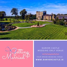 Couples are invited to come & view our beautiful wedding venue and see all it has to offer for their celebrations.   Meet our dedicated wedding specialists who can answer all your questions, show you different options and go through your own ideas and suggestions.   Winter or Summer, Large or Small Weddings, Darver Castle charm is captivating and must be seen to be believed.  Private viewings are available this Friday 17th July for couples by appointment only. Call 00353 (42) 9372176 to… Beautiful Wedding Venues, Dream Wedding, Private Viewing, Small Weddings, Simply Beautiful, Old World, Countryside, Dreaming Of You, Celebrations