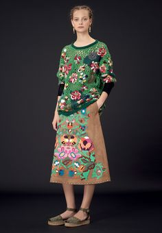 Valentino does crochet ;-)...from the Valentino Official Website - Valentino Women Pret a Porter Pre Season Collection.