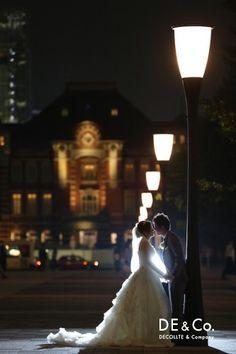 出発の意味も込めて東京駅で♡前撮りは東京で。絵になるスポット一覧を集めました♡参考にどうぞ♡