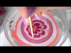 Isnt this cool if you want to learn how to do this go to you tube and search up nail tutorial with water